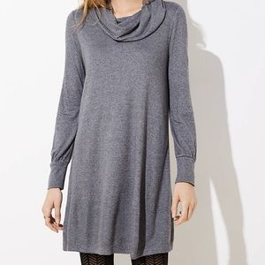 LOFT Cowl Neck Dress